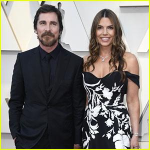 Christian Bale Brings Wife Sibi to Oscars 2019!