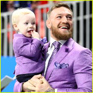 Conor McGregor & Son Conor Jr.