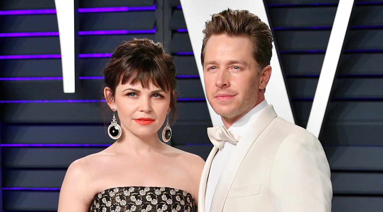 Josh Dallas Ginnifer Goodwin Couple Up At Vanity Fairs Oscars