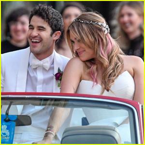 Darren Criss & Mia Swier Are Married - See Their Wedding Photos!
