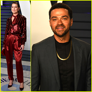 392c318e5 Ellen Pompeo Joins More  Grey s Stars at Oscars 2019 Parties