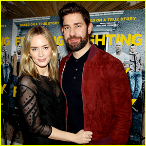 Emily Blunt & John Krasinski Couple Up for 'Fighting With My Family' Screening!