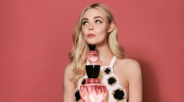 020295eb290 Elle Fanning Stars in Miu Miu s Quirky New Fragrance Campaign Film (Video)
