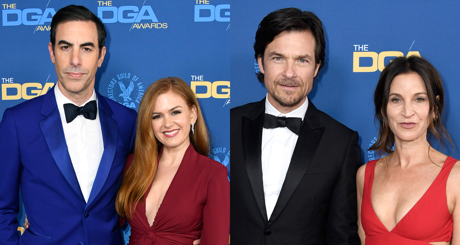 Isla Fisher & Sacha Baron Cohen Join Jason Bateman & Wife