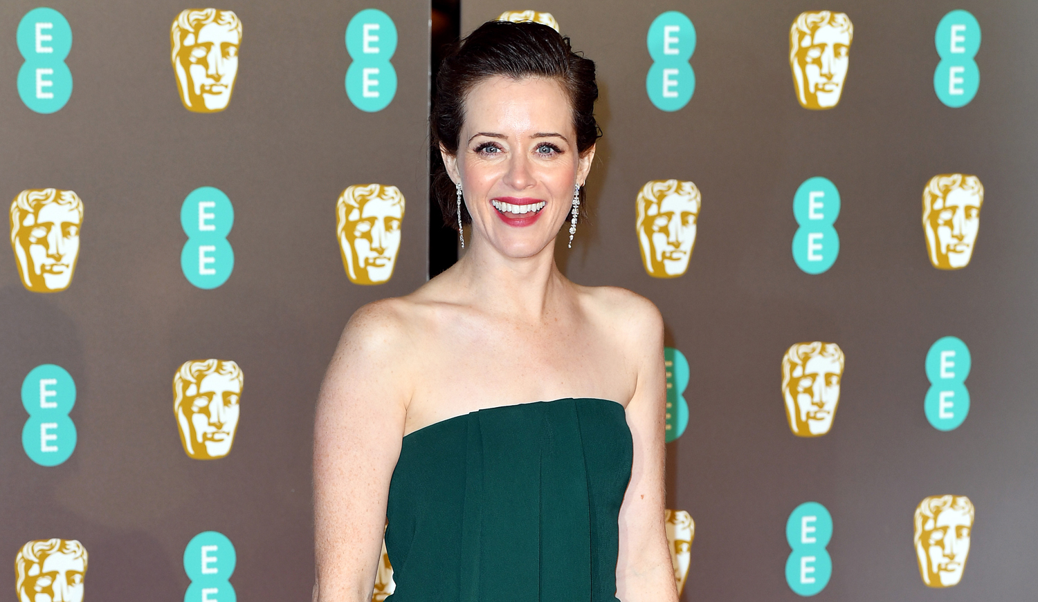 Baftas 2019: Claire Foy At BAFTAs 2019: 'I'm Hungry!'