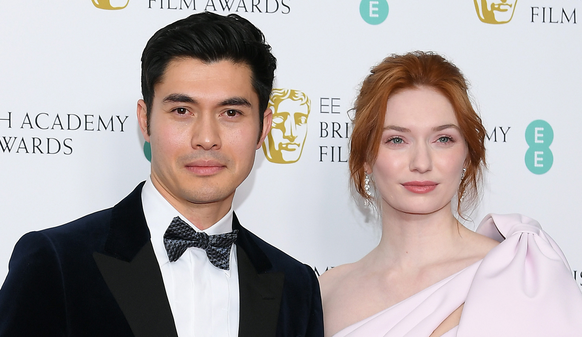 Henry Golding Presents With Eleanor Tomlinson At Baftas