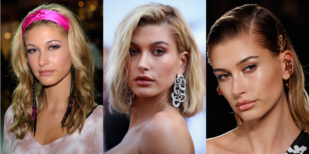 Hailey Bieber S Hair Style Evolution Over The Years