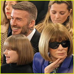 Harper Beckham, 7, & Anna Wintour Have the Same Haircut!