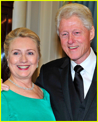 Hillary & Bill Clinton Arrive to Cheering Fans at Broadway Show