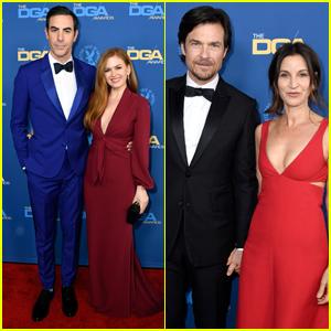 Isla Fisher & Sacha Baron Cohen Join Jason Bateman & Wife Amanda at DGA Awards 2019