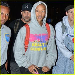 Jaden Smith Arrives in India to Perform at Vh1 Supersonic Festival 2019!