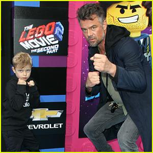 Josh Duhamel Takes His Son Axl to 'Lego Movie 2' Premiere!