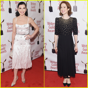 Julianna Margulies & Ellie Kemper Attend Writers Guild Awards 2019 in NYC