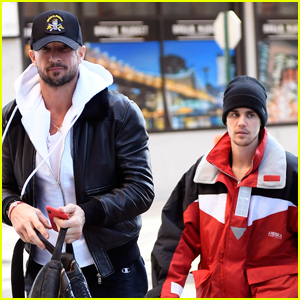 Justin Bieber & Pastor Carl Lentz Spend the Day Together in NYC