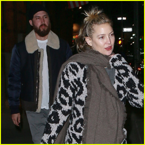 Kate Hudson & Danny Fujikawa Have a Date Night at Lin-Manuel Miranda's New Play!