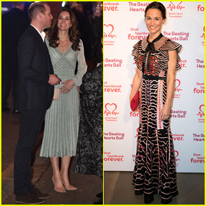 Kate Middleton & Sister Pippa Don Their Finest for Separate Events!