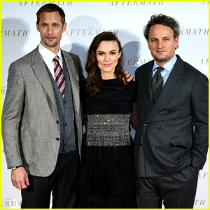 Keira Knightley Premieres 'The Aftermath' in London with Alexander