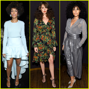 Kerry Washington, Shailene Woodley, & Tracee Ellis Ross Step Out for Marc Jacobs' NYFW Show!