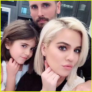 Khloe Kardashian Shows Off Niece Penelope's First Haircut Ever!