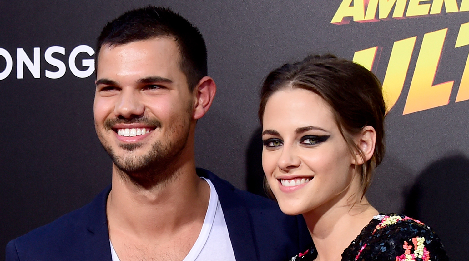 Kristen Stewart & Taylor Lautner Reunite at His Birthday ...
