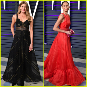 Laura Dern & Minnie Driver Look Chic at Vanity Fair's Oscars Party