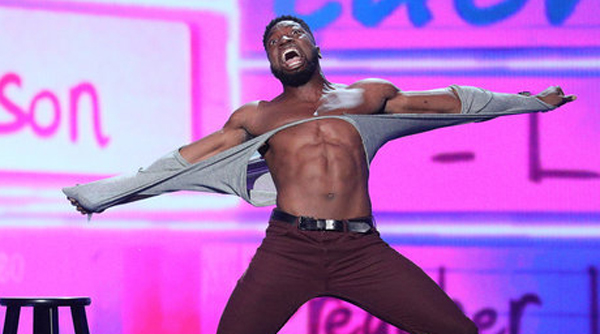 Agt S Preacher Lawson Goes Shirtless Bares Ripped Body