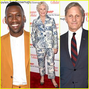 Mahershala Ali, Glenn Close, & Viggo Mortensen Hit AARP's Movies for Grownups Awards Red Carpet
