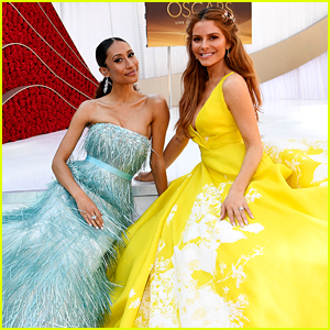 Oscars Red Carpet Hosts Maria Menounos & Elaine Welteroth Make Their Entrances!