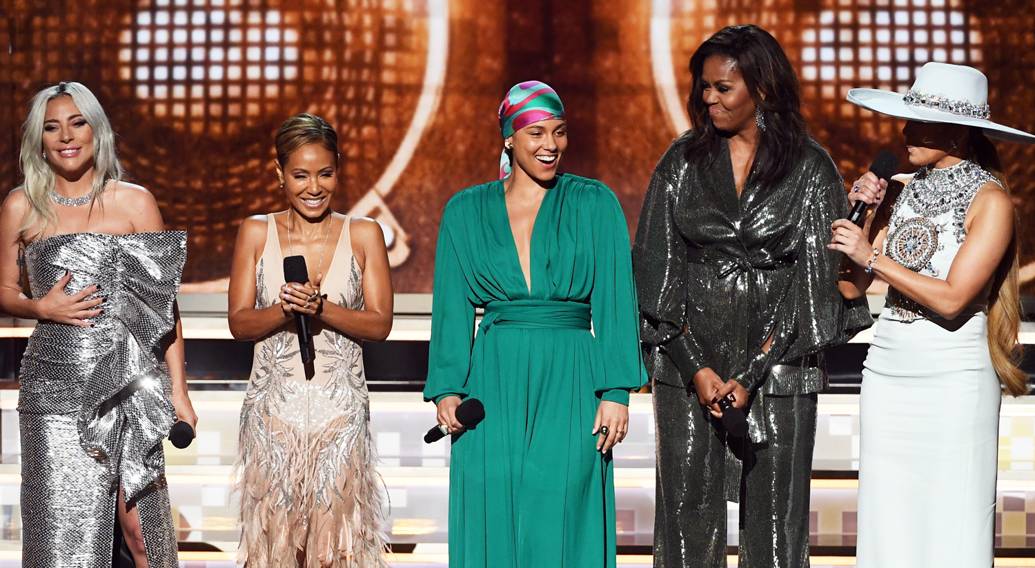 Grammy 2019: Michelle Obama, Alicia Keys, & More Share Powerful Grammys