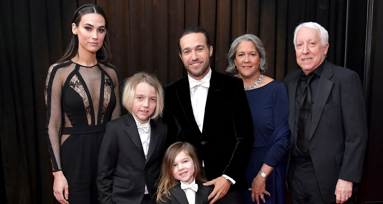 Pete Wentz Brings Girlfriend Meagan Camper Sons Bronx Saint To
