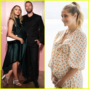 Pregnant Teresa Palmer & Hubby Mark Webber Couple Up at David Jones AW19 Season Launch!