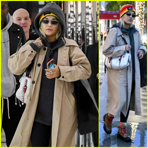 Rita Ora Goes Shopping With Her Dad on Rodeo Drive