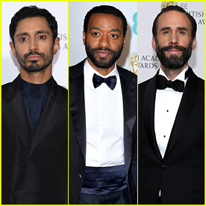 Riz Ahmed, Chiwetel Ejiofor, & Joseph Fiennes Step Out for BAFTAs 2019