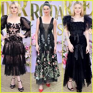 Lucy Boynton, Shailene Woodley, & Dakota Fanning Wear Ethereal Looks at Rodarte Show!