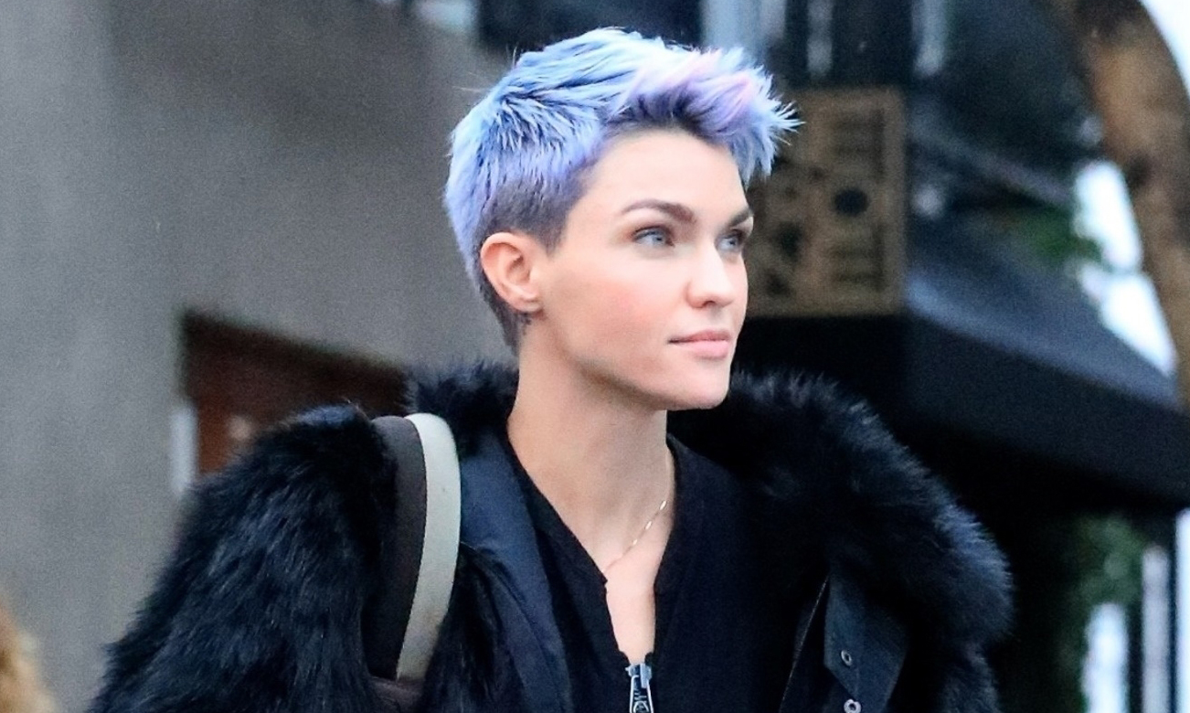 Ruby Rose Debuts a New Purple Hair Color! | Ruby Rose ...