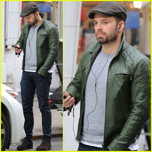 Sebastian Stan Heads Out & About in New York City