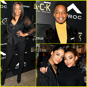 Stephan James Hosts a Night of Black Excellence During Oscars Week