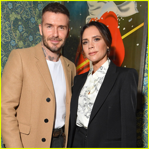 Victoria Beckham is Supported by Husband David at Launch of New YouTube Channel!