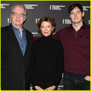 Annette Bening Joins Her Leading Men at 'All My Sons' Broadway Photo Call
