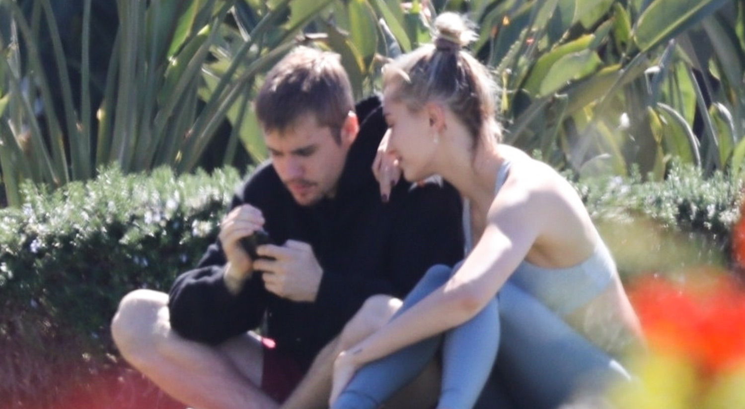 Justin Bieber & Wife Hailey Spend Saturday Morning at a ...