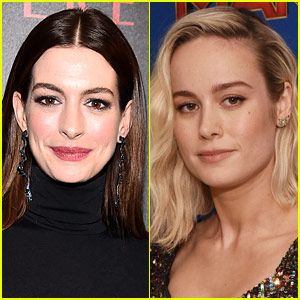People Are Loving What Anne Hathaway Wrote on Brie Larson's Instagram!