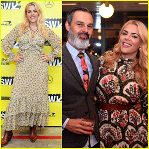 Busy Philipps Couples Up With Marc Silverstein at Create & Cultivate Dinner During SXSW