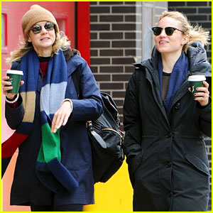 Carey Mulligan & Dianna Agron Hang Out in New York City!