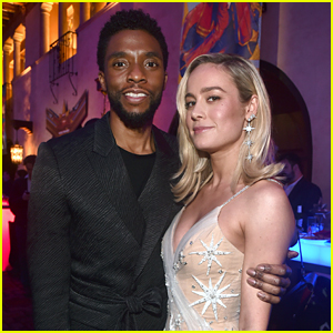 Chadwick Boseman Raves About Brie Larson in 'Captain Marvel'