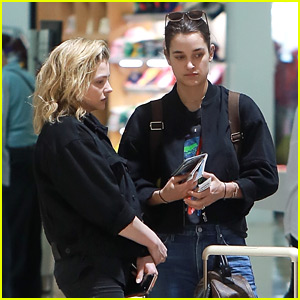 Chloe Moretz Takes a Trip with Kate Harrison, Three Months After Those Kissing Pics Surfaced