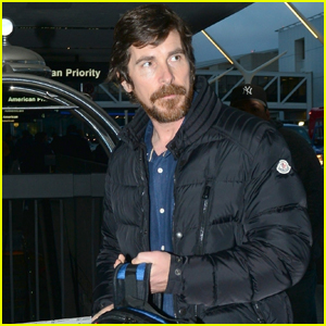 Christian Bale Catches Early Morning Flight Out of LAX