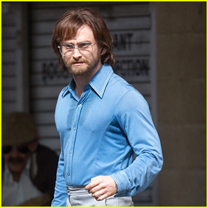 Daniel Radcliffe Sports Long Hair & Beard on 'Escape from Pretoria' Set