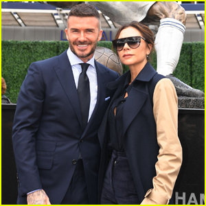 David Beckham is Supported by Wife Victoria at Unveiling of His Statue!