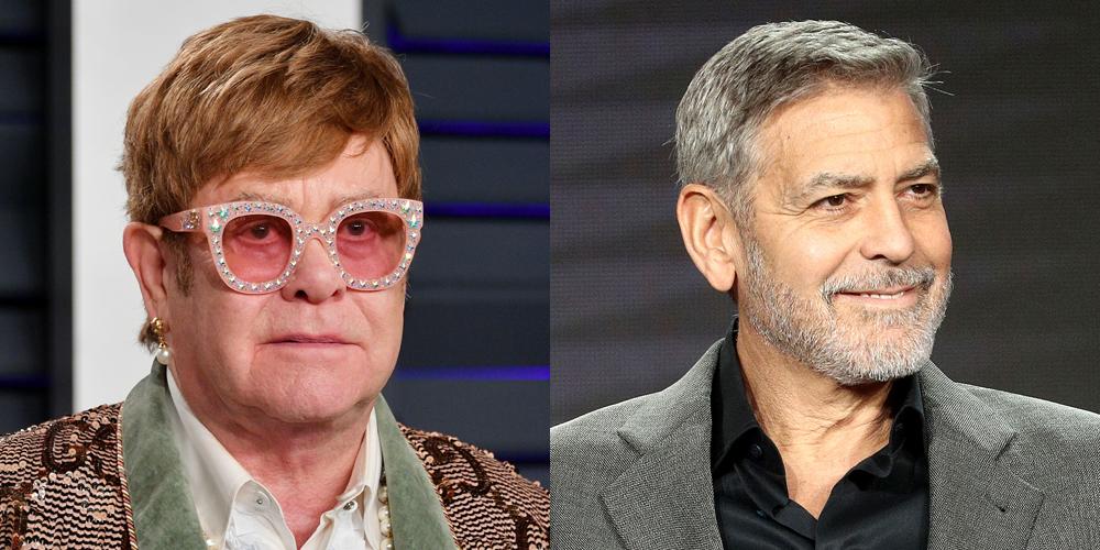 Elton John Applauds George Clooney's Boycott o Sultan of