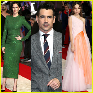 Colin Farrell, Eva Green, & 'Dumbo' Stars Attend UK Premiere!